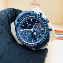 OMEGA Speedmaster Moonwatch  44.25mm Blue Ceramic Blue Dial Automatic 304.93.44.52.03.001