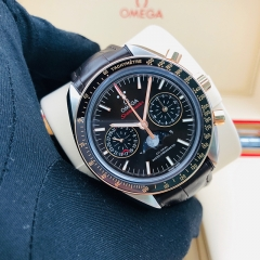 OMEGA Speedmaster Moonwatch  44.25mm Steel-Rose Gold Brown Dial Automatic 304.23.44.52.13.001