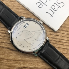 A.Lange & Söhne Grand Lang 1 Platinum Silver Dial Manual-winding 117.025