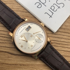 A.Lange & Söhne Grand Lang 1 18K Rose Gold Silver Dial Manual-winding 191.032