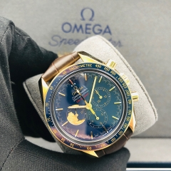 OMEGA Speedmaster Moonwatch Anniversary 42mm 18K Yellow Gold Blue Dial Manual-winding 311.63.42.30.03.001