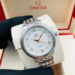 OMEGA De Ville Prestige 32.7mm Stainless Steel Silver Dial Automatic 424.10.33.20.52.001
