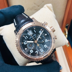 Breguet Type XX-XXI-XXII 42.5mm Brown 18K Rose Gold Automatic 3810BR/92/9ZU