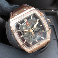 HUBLOT Spirit of Big Bang 42mm 18K Rose Gold 42mm Sapphire Automatic 601.OX.0183.LR.1104
