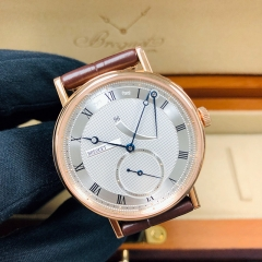 Breguet Classique 38mm Silver Dial 18K Rose Gold Manual-winding 5277BR/12/9V6
