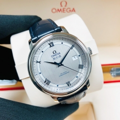 OMEGA De Ville Prestige 39.5mm Stainless Steel Silver Dial Automatic 424.13.40.20.02.003