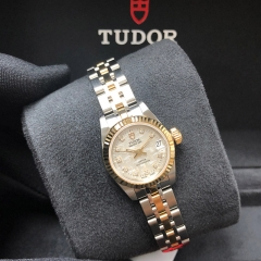 Tudor Princess Date 22mm Steel-Yellow Gold Silver Dial Automatic M92513-0008