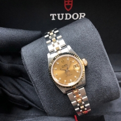 Tudor Princess Date 25mm Steel-Yellow Gold Champagne Dial Automatic M92413-0006