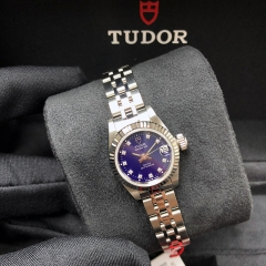 Tudor Princess Date 22mm Steel-White Gold Blue Dial Automatic M92514-0007