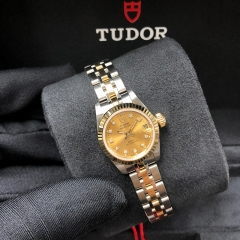 Tudor Princess Date 22mm Steel-Yellow Gold Champagne Dial Automatic M92513-0011