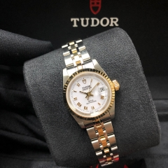 Tudor Princess Date 25mm Steel-Yellow Gold White Dial Automatic M92413-0008