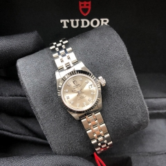 Tudor Princess Date 22mm Steel-White Gold Silver Dial Automatic M92514-0002