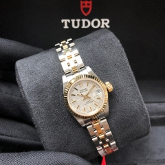 Tudor Princess Date 22mm Steel-Yellow Gold Silver Dial Automatic M92513-0017