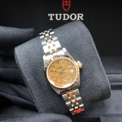 Tudor Princess Date 25mm Steel-Yellow Gold Champagne Dial Automatic M92413-0003