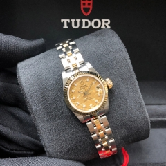 Tudor Princess Date 22mm Steel-Yellow Gold Champagne Dial Automatic M92513-0010