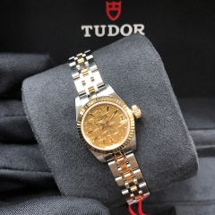 Tudor Princess Date 22mm Steel-Yellow Gold Champagne Dial Automatic M92513-0012
