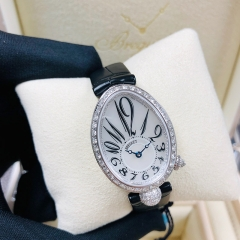 Breguet Reine De Naples 24.95*33mm Mother of Pearl Dial 18K White Glod Automatic 8928BB/5W9/44/DD0D