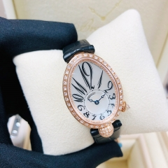Breguet Reine De Naples 24.95*33mm Mother of Pearl Dial 18K Rose Glod Automatic 8928BR/5W9/44/DD0D