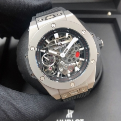 HUBLOT Big Bang Meca-10 45MM Titanium Black Dial Automatic 414.NI.1123.RX