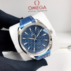 OMEGA Olympic Games Collection 41MM Stainless Steel Blue Dial Automatic 522.12.41.21.03.001