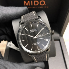 MIDO Multifort 42MM Stainless Steel With Black PVD Coating Black Dial Automatic  M038.431.37.051.00