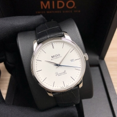 MIDO Baroncelli 38mm Stainless Steel White Dial Automatic M027.407.16.010.00
