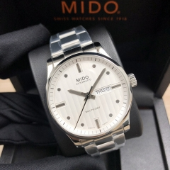 MIDO Multifort 42MM Stainless Steel Silver Dial Automatic M005.430.11.031.80