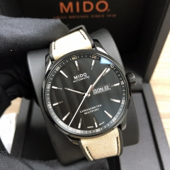 MIDO Multifort 40MM Stainless Steel With Black PVD Coating M038.431.37.051.09