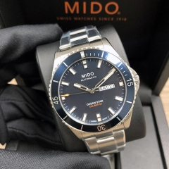 MIDO Ocean Star 42.5mm Stainless Steel Blue Dial Automatic M026.430.11.041.00