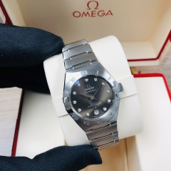 OMEGA Constellation Stainless Steel  29MM Grey Dial Automatic 131.10.29.20.56.001