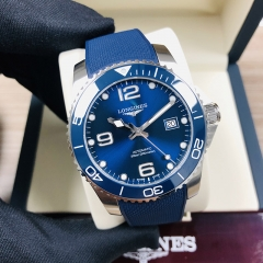 LONGINES Hydroconquest 41MM Stainless Steel Blue Dial Automatic L3.781.4.96.9