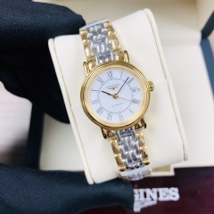 LONGINES La Grande Classique 25MM  Stainless Steel With Yellow Gold PVD Coating White Dial Automatic L4.321.2.11.7