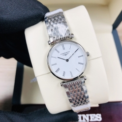 LONGINES La Grande Classique De 24MM Stainless Steel White Dial Quartz L4.209.4.11.6