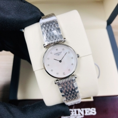 LONGINES La Grande Classique De 24MM Stainless Steel Mother Of Pearl Dial Quartz L4.209.4.87.6