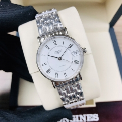 LONGINES Presence 30MM  Stainless Steel White Dial Automatic L4.322.4.11.6