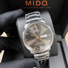 MIDO Commander 40mm Stainless Steel Gray Dial Automatic M021.431.11.061.01