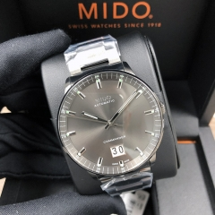 MIDO Commander 42MM Stainless Steel Gray Dial Automatic M021.626.33.061.00