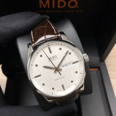 MIDO Multifort 42MM Stainless Steel Silver Dial Automatic M005.430.16.031.80