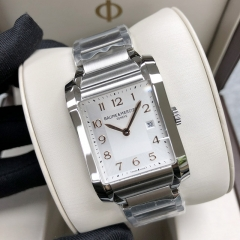 Baume & Mercier Hampton 40*27.1mm Stainless Steel Silver Dial Quartz  MOA10020