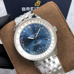 BREITLING Navitimer 1  41MM Stainless Steel Blue Dial Automatic A17326211C1A1