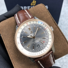 BREITLING Navitimer 1 41MM Steel-Rose Gold Black Dial Automatic U17326211M1P1