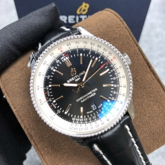 BREITLING Navitimer 1  41MM Stainless Steel Black Dial Automatic A17326211B1P2
