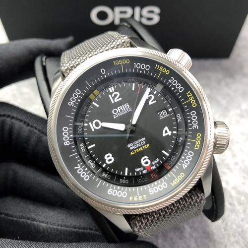 Oris Big Crown Propilot 47mm Stainless Steel Black Dial Automatic 01 733 7705 4134
