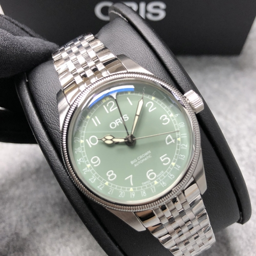 Oris Big Crown 36mm Stainless Steel Green Dial Automatic 01 754 7749 4067