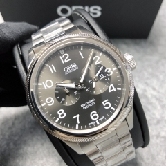 Oris Propilot 44.7mm Stainless Steel Grey Dial Automatic 01 690 7735 4063