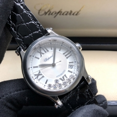 Chopard Happy Sport Happy Sport 36mm Stainless Steel Silver Dial Automatic 278559-3001