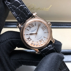 Chopard Happy Sport 30MM Rose Gold Silver Dial Automatic 274893-5011